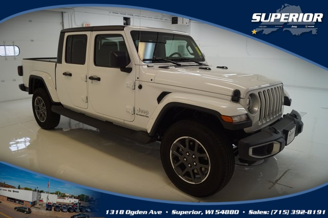 NEW 2020 JEEP GLADIATOR OVERLAND 4X4 #LL137831