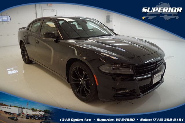 PRE-OWNED 2017 DODGE CHARGER R/T WITH NAVIGATION #HH649310