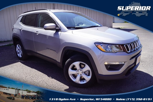 PRE-OWNED 2018 JEEP COMPASS LATITUDE 4WD #JT185278
