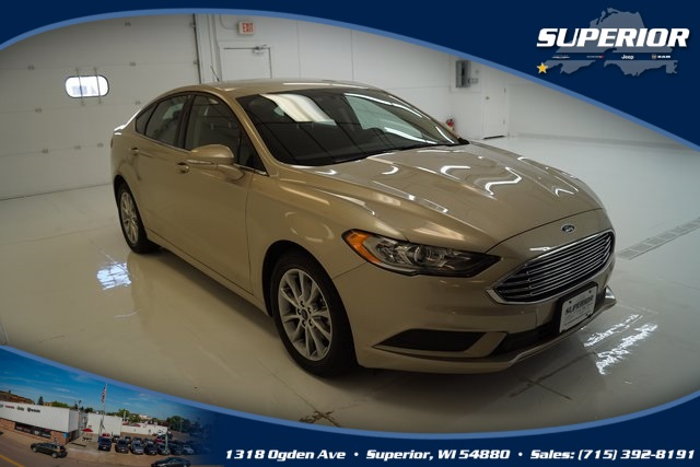 PRE-OWNED 2017 FORD FUSION SE FWD 4D SEDAN #HR398701